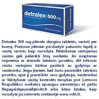ar galima vartoti Detralex nuo hipertenzijos