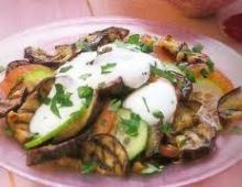 Pikantiškos baklažanų salotos