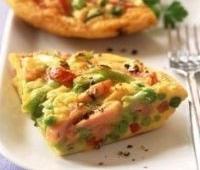 Pavasarinių daržovių omletas