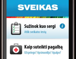 SVEIKAS.LT nemokama mobili programėlė - gydytojas Jūsų kišenėje! VIDEO APŽVALGA