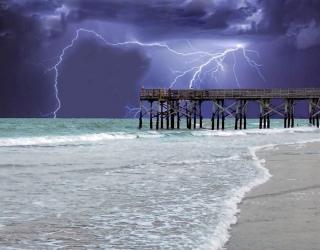 Elektros srovės smūgis. Žaibo smūgis