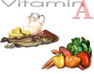Vitaminas A (Retinolis)